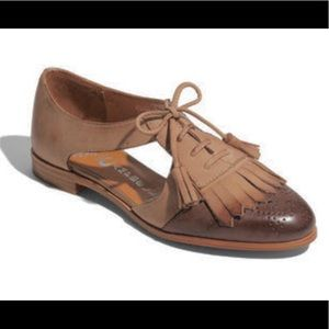 JEFFREY CAMPBELL Kelley Oxford Kiltie Tassel Flats